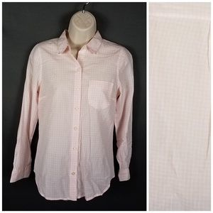 4/10- Old Navy XS pink button down Blouse